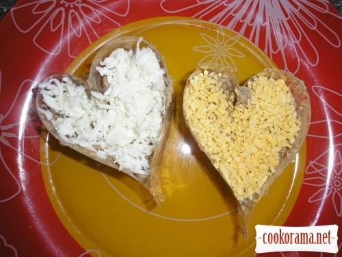 Закуска «Серце»