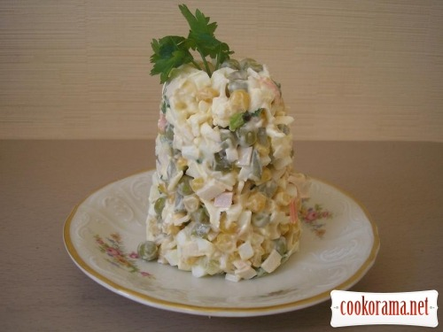 Salad «Mountain»