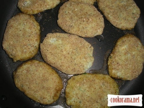 Potato cutlets with brynza