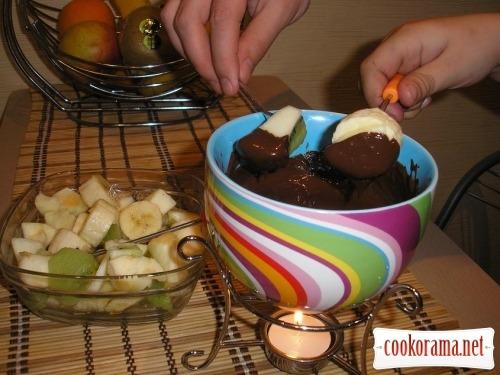 Фондю шоколадне