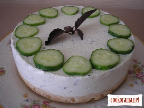 Cucumber cake