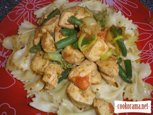 Curry with vegetables