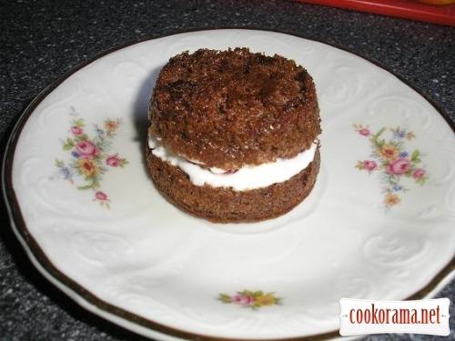 Cake Raspberry in chocolate