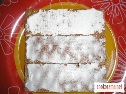 Міні тортики з кріспів з кабачком