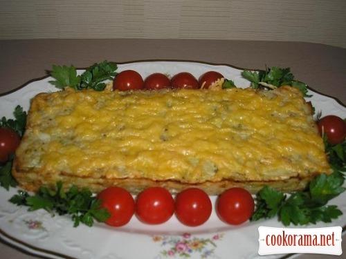 Запіканка з капустою