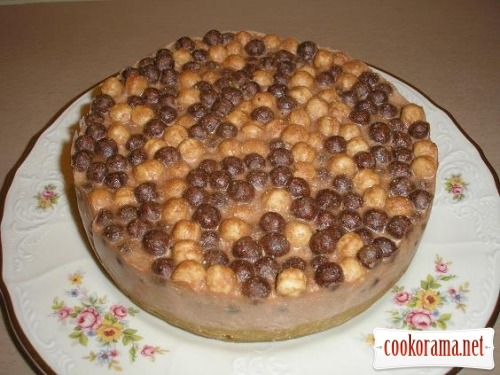 Cheesecake with Nesquik