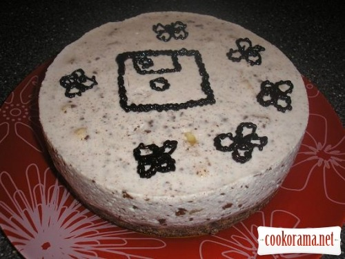 Торт без выпечки «С Днем программиста!»
