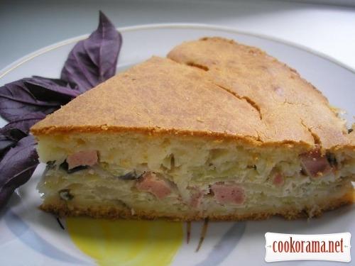 Пиріг з капустою