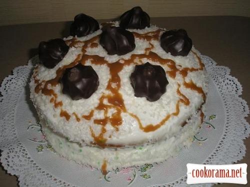Торт «Кокосовий світлофор»
