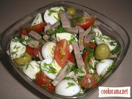 Salad «Cute crumbs»
