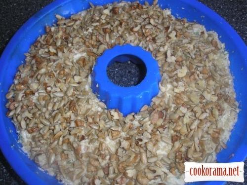 Сирне кільце з насінням