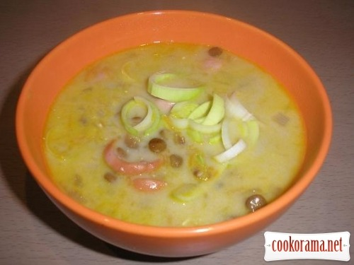 Сочевичний суп