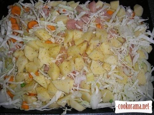 Vegetable casserole
