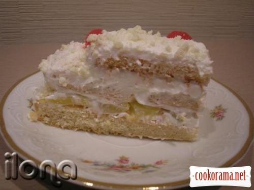 Торт з савоярді