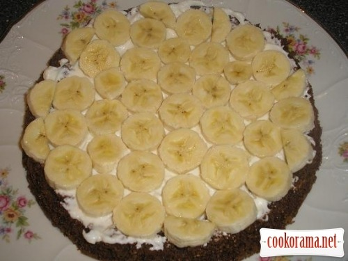 Coconut-banana cake
