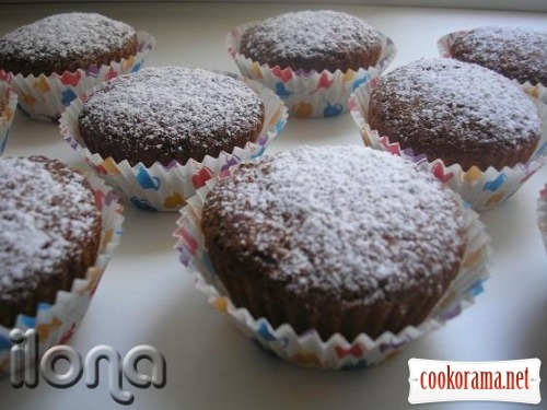 Cakes with currants
