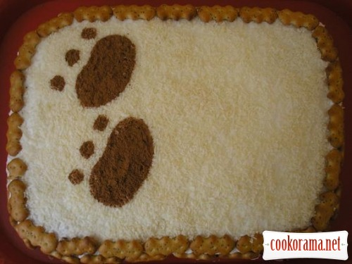 "Торт ""Клишоногий ведмедик"""