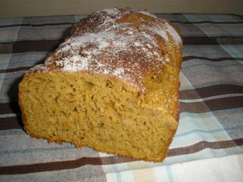 Rye bread with pumpkin
