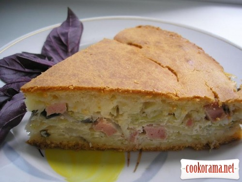 Cabbage pie