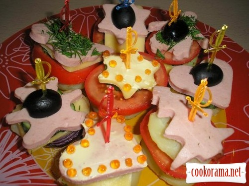 Canapes for children