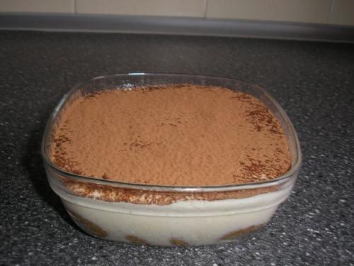 Tiramisu by recipe of Julia Vysotskaya