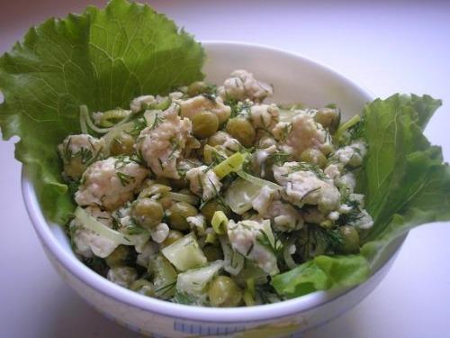 "Salad ""Kikimora"""