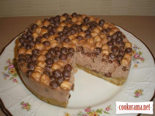 Cheesecake with Nesquik