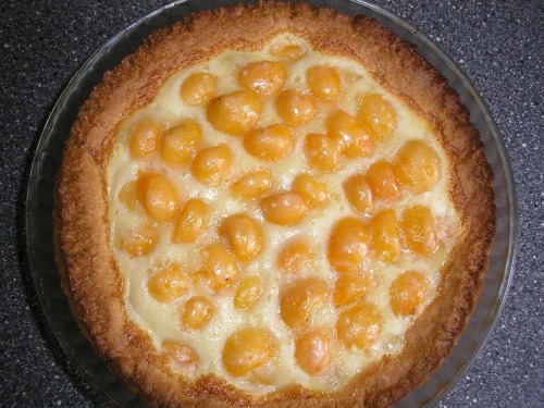 Apricot pie (my variant)