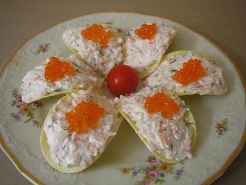 Бутерброды на чипсах рецепты с фото