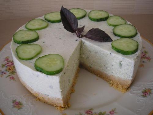 Огірковий торт