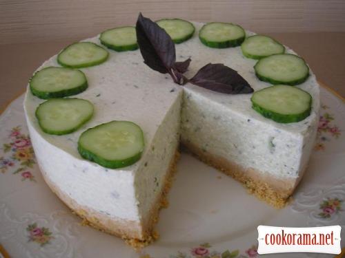Огуречный торт