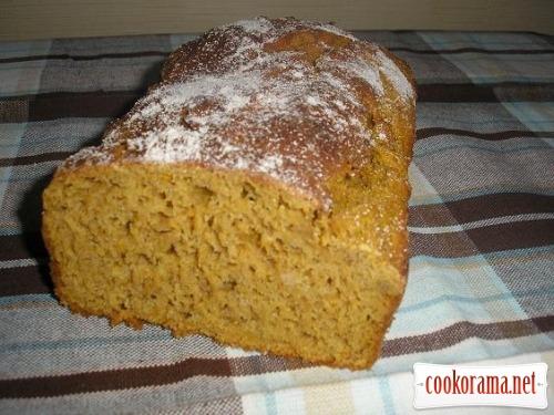 Житній хліб з гарбузом