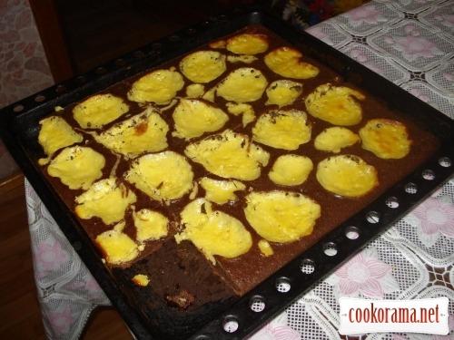 Сирний пиріг «День і ніч»