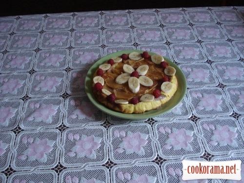 Творожный пирог «Летнее Солнышко»