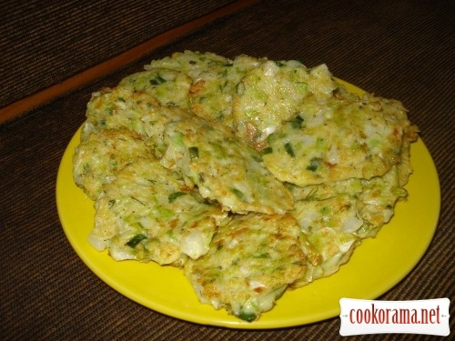 Cabbage pancakes «Sunnies»