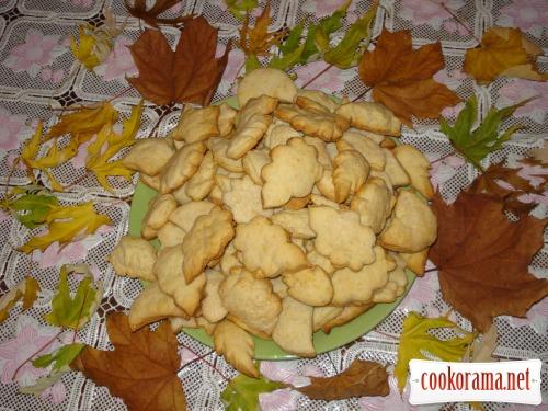 Печенюшки «Листья падают, падают, падают...»