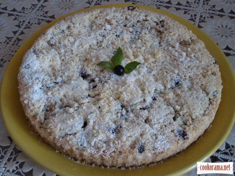 Тертий фруктовий пиріг