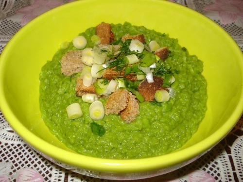 """Гороховий суп-пюре """"Зелено"""""""