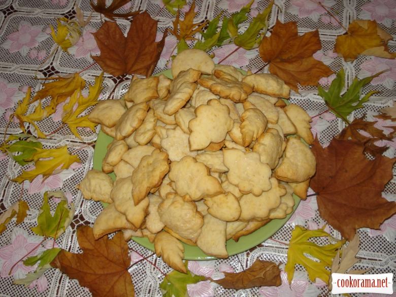 """Печенюшки """"Листья падают, падают, падают..."""""""