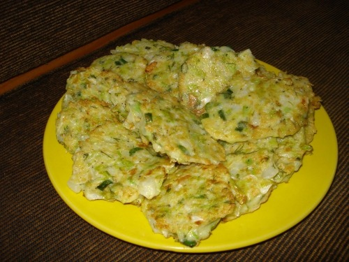 "Cabbage pancakes ""Sunnies"""