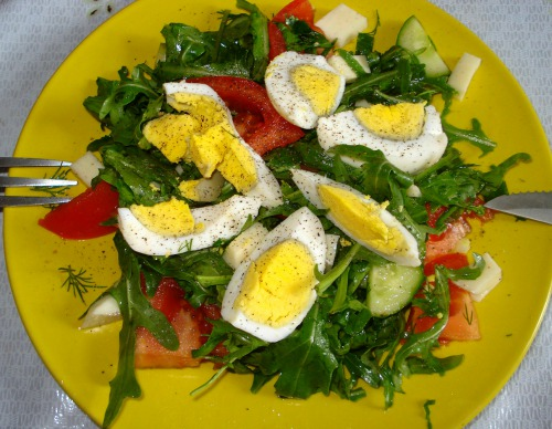 "Salad ""Spring - such a spring"""