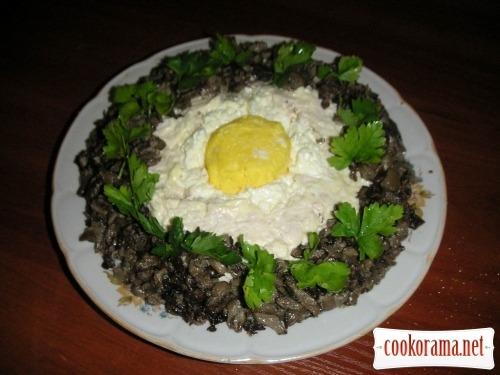 Salad «Nest»
