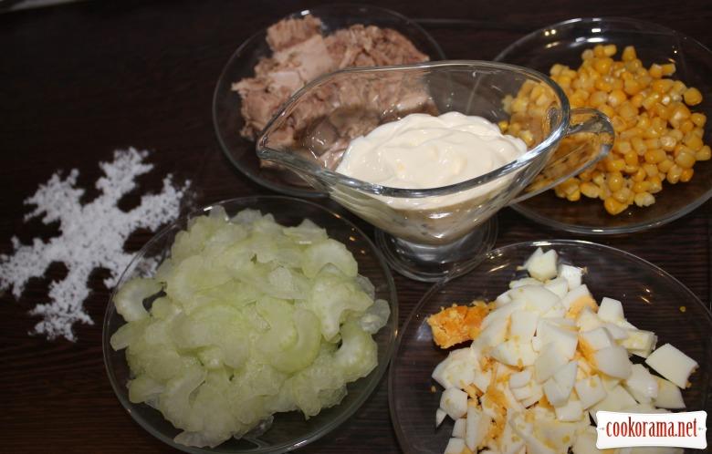 Салат «Зимовий вітамін»