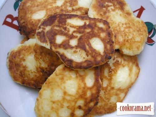 Mama's cheese pancakes