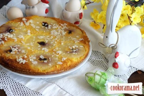 Пирог-перевертыш с ананасами «Солнечный зайчик»