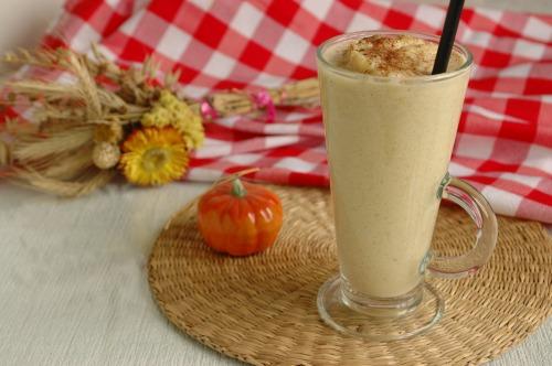 Гарбузово-молочний коктейль