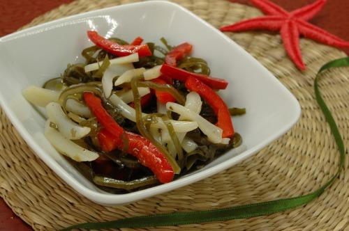 Kelp salad