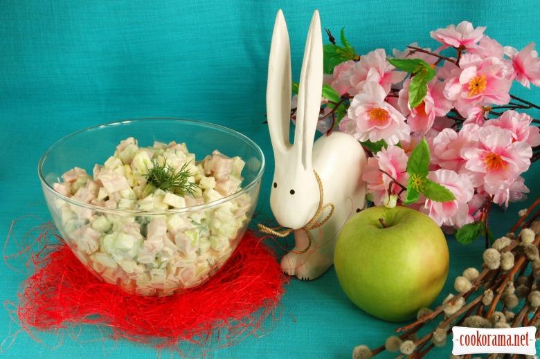 Легкий пасхальный салат
