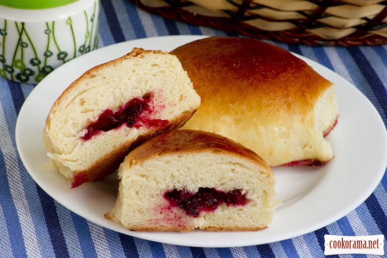 Дрожжевые пироги с творогом и ягодами рецепты с