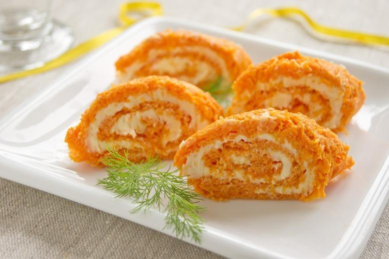 Морквяний рулет
